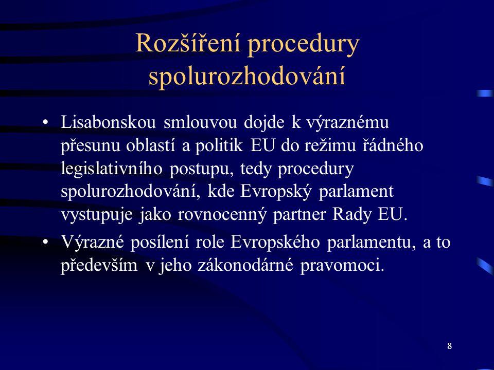 19 Aktivity čes. europoslanců – 3.