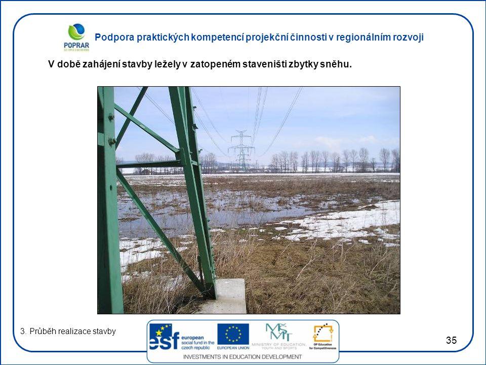 Podpora praktických kompetencí projekční činnosti v regionálním rozvoji 35 3.