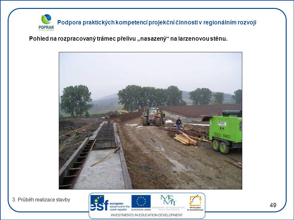 Podpora praktických kompetencí projekční činnosti v regionálním rozvoji 49 3.