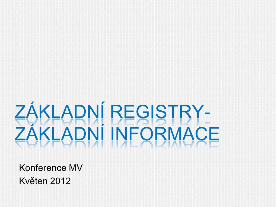 Konference MV Květen 2012