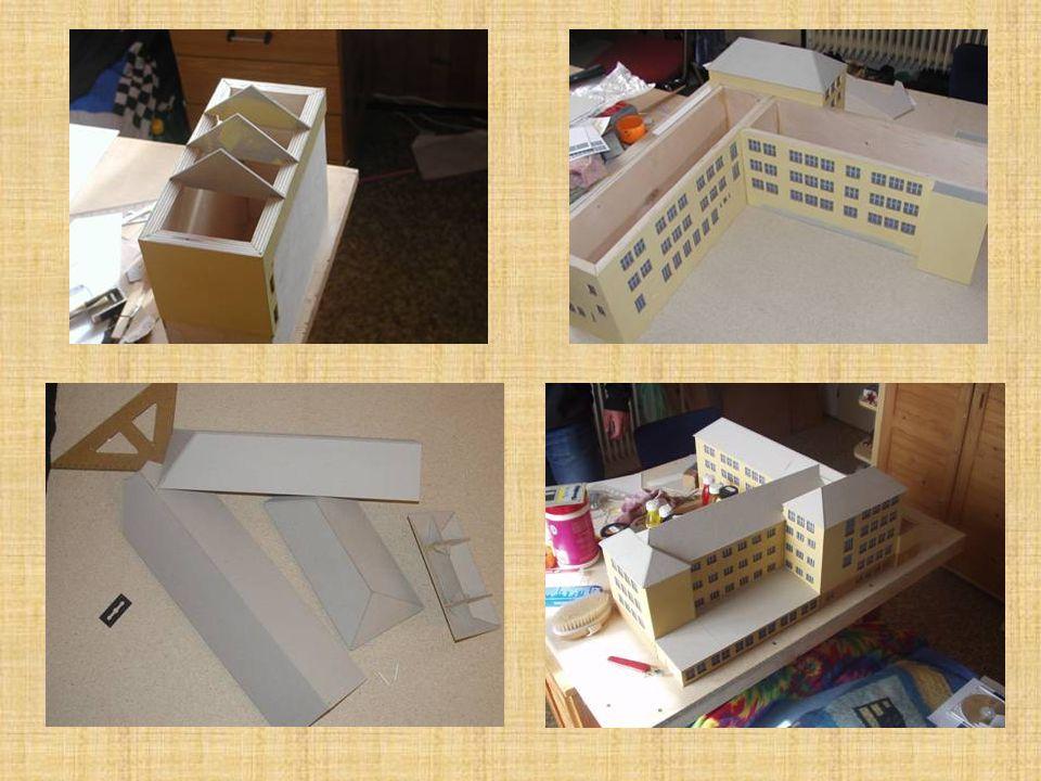 3) Modelování střechy SPŠS
