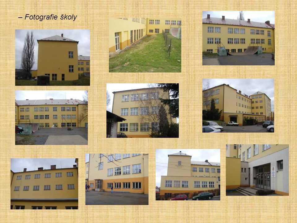 – Fotografie školy