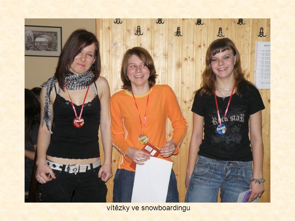 vítězky ve snowboardingu