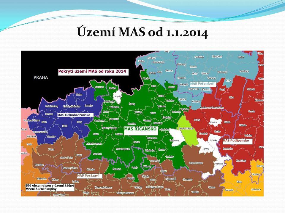 Území MAS od 1.1.2014