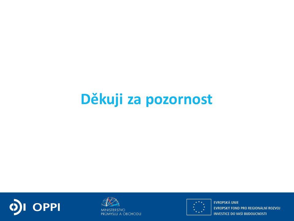 Ing. Petr Očko, Ph.D. ředitel sekce fondů EU, výzkumu a vývoje PODPORA PODNIKÁNÍ Děkuji za pozornost