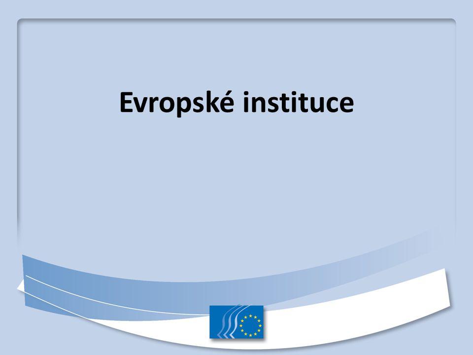 Evropské instituce