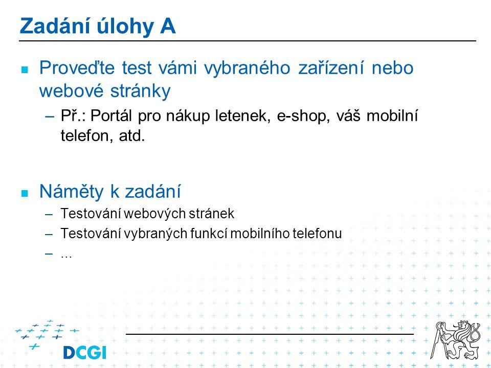 Část A1: Formulace zadání – Obsah Cca.