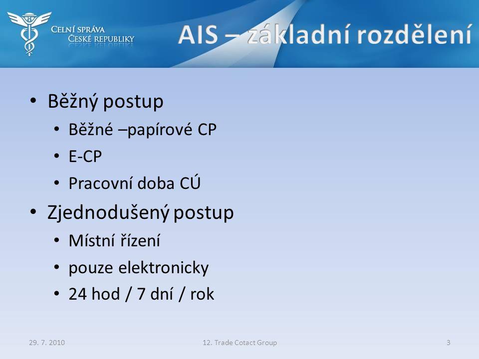 """Běžný postup písemné JSD – písemně e-CP – elektronicky Písemně Elektronicky Zjednodušený postup (MŘ) bez předložení Jen jejich """"otisk (HASH) Elektronicky budou zasílány samostatnou zprávou"""