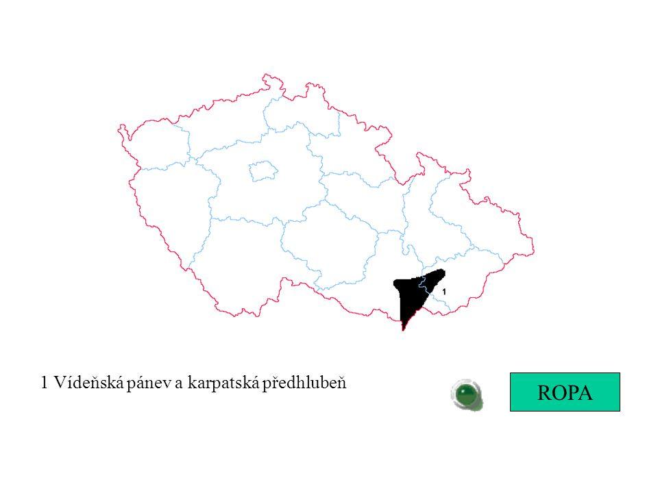 1 Vídeňská pánev a karpatská předhlubeň ROPA