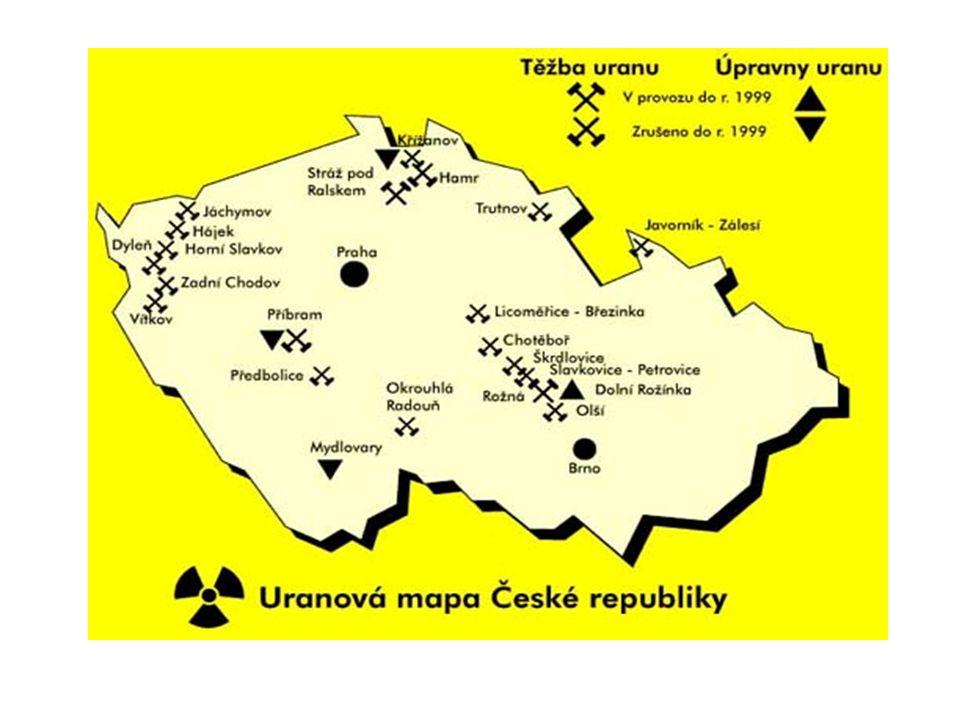 Výhradní ložiska k 31.12.2005 – zásoby průmyslové a geologické Pramen: ČGS - Geofond