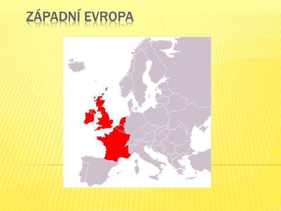  Velká Británie (Spojené království Velké Británie a Severního Irska)  Irsko  Francie  Belgie  Nizozemí  Lucembursko  Londýn  Dublin  Paříž  Brusel  Amsterdam  Luxemburg