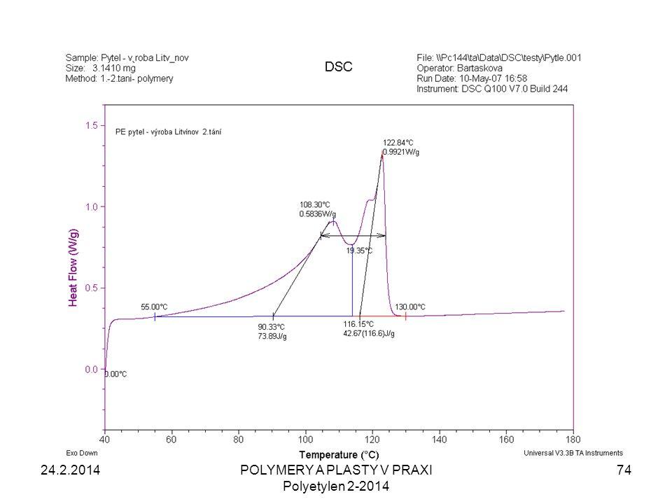 24.2.201474POLYMERY A PLASTY V PRAXI Polyetylen 2-2014