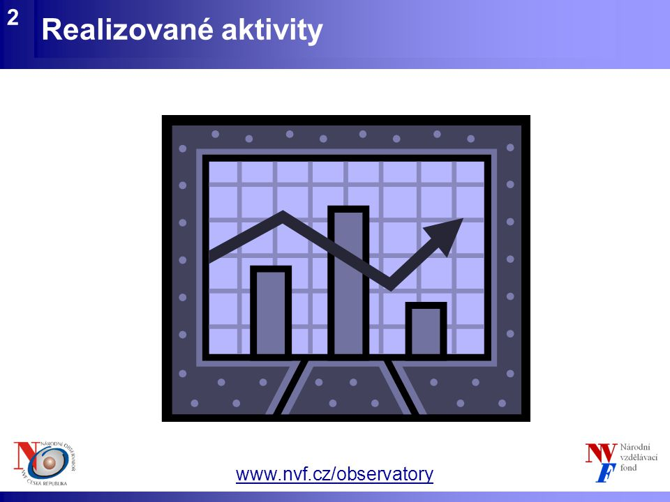www.nvf.cz/observatory 2 Realizované aktivity