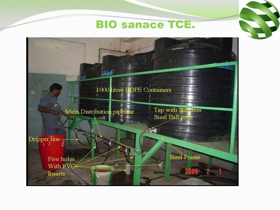 TCE / Analýza vody mikrogramů / litr.