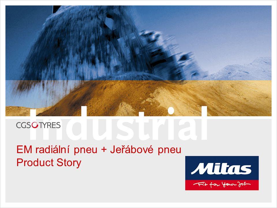 EM radiální pneu + Jeřábové pneu Product Story