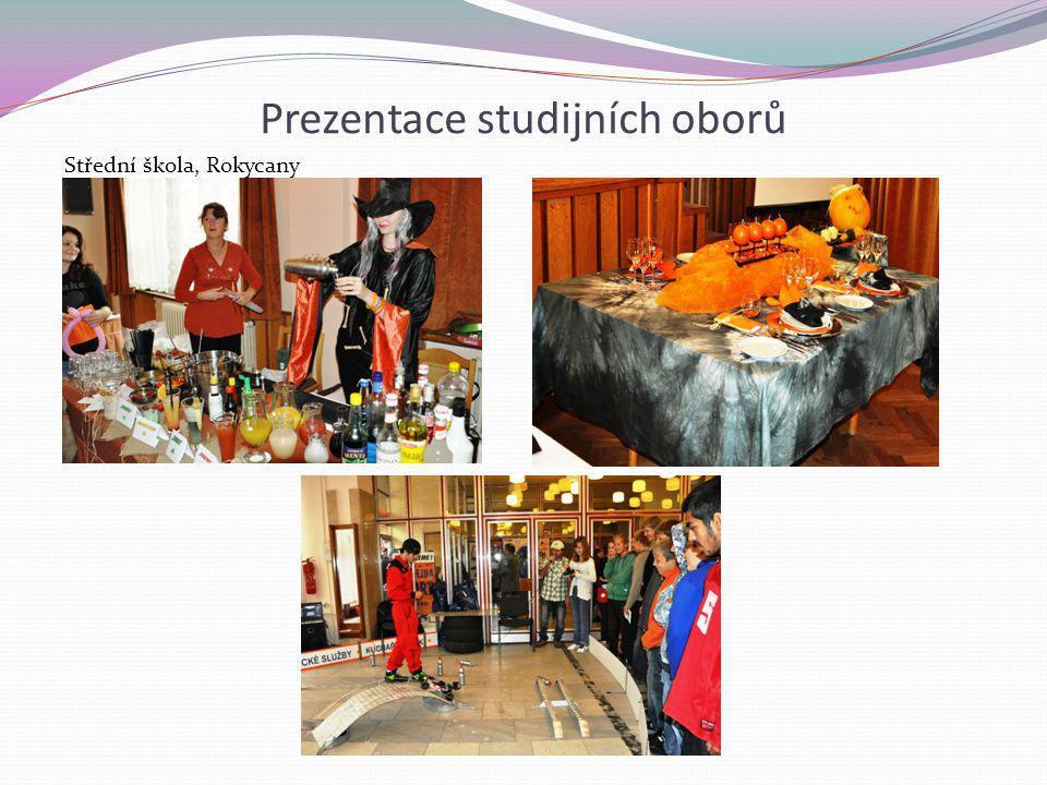 Prezentace studijních oborů Střední škola, Rokycany