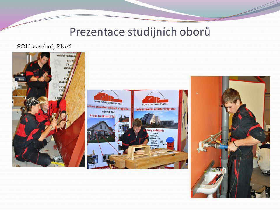 Prezentace studijních oborů SOU stavební, Plzeň