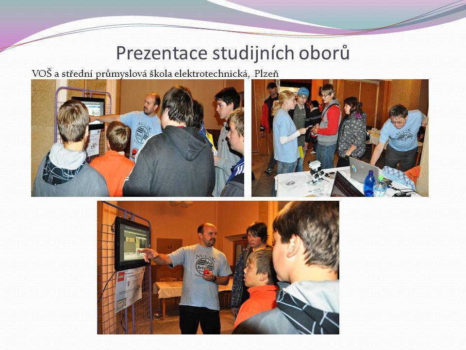 Prezentace studijních oborů VOŠ a střední průmyslová škola elektrotechnická, Plzeň