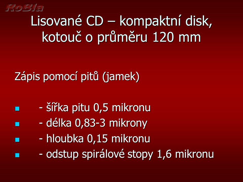 Standardy DVD DVD Multi DVD Multi Označení přehrávačů schopných pracovat s formáty DVD-R, DVD-RW a DVD-RAM.