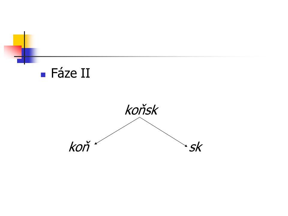 Fáze II koňsk