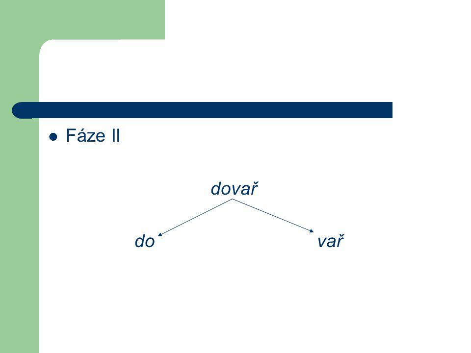 Fáze II dovař