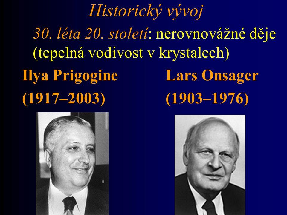 Historický vývoj 30.léta 20.