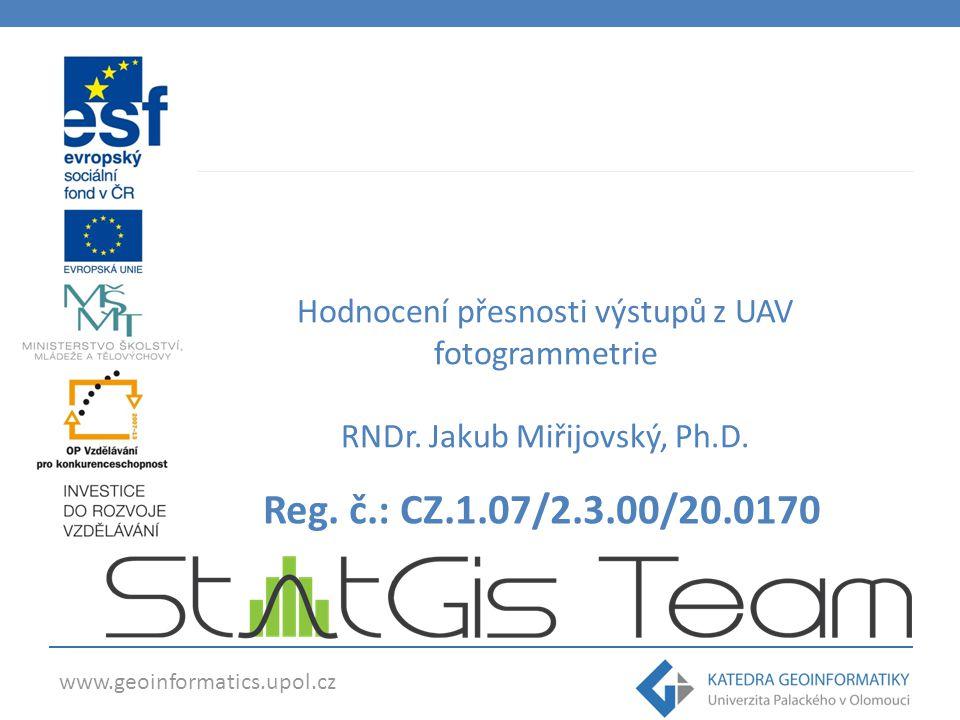 www.geoinformatics.upol.cz Reg.