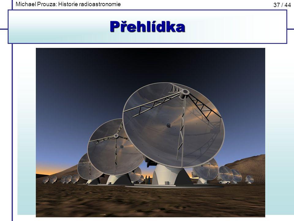 Michael Prouza: Historie radioastronomie 37 / 44Přehlídka