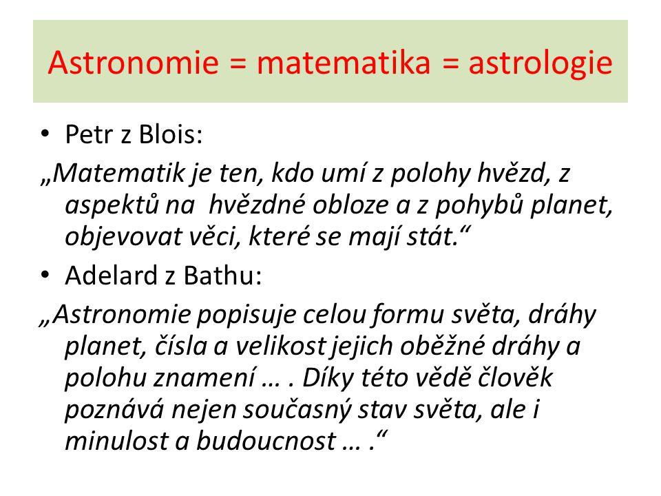 Astronomie ve středověku Je založena na geocentrickém modelu, který byl popsán Klaudiem Ptolemaiem kolem roku 150 n.l.