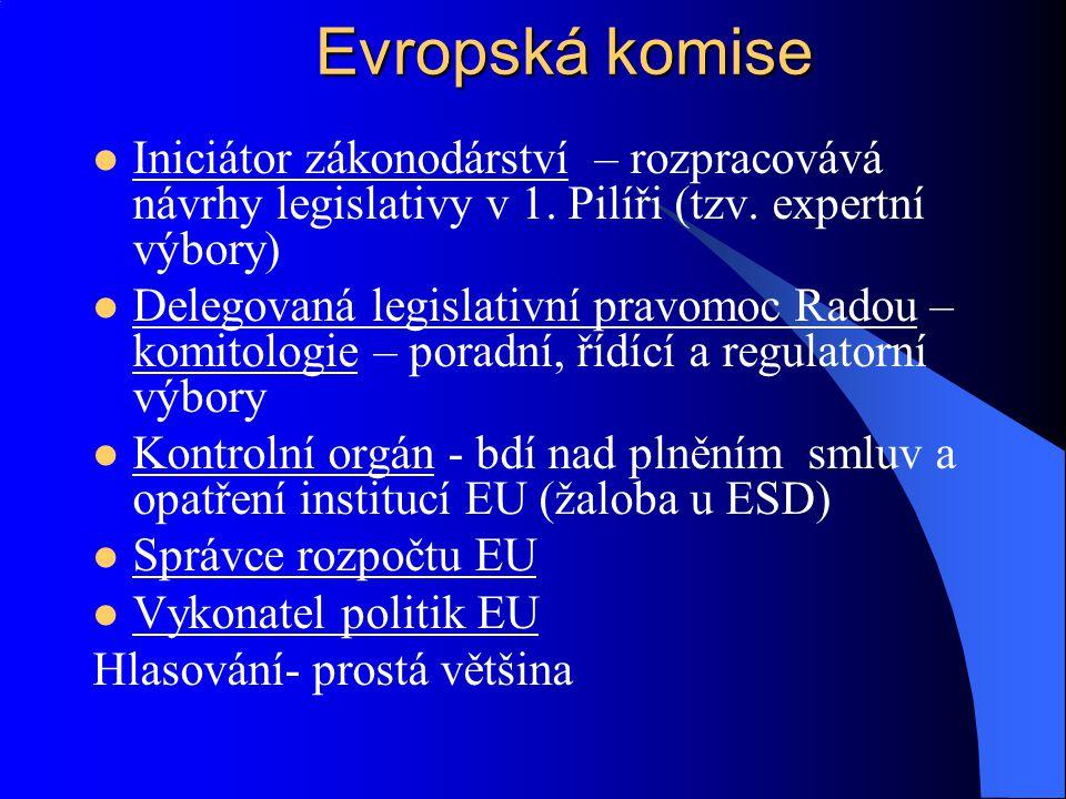 Reprezentuje členské státy, Brusel (případně zasedání ve státě, který má předsednictví) Zástupce členského státu (ministr, stálá reprezentace) Předsednictví Rady se po 6 měsících střídá (Irsko, Nizozemí, Lucembursko) Předseda určuje agendu a priority Rada pro všeobecné záležitosti a vnější vztahy (horizontální otázky s přesahem do více politik Unie), jinak dle téma – od roku 2002 zasedání v devíti formacích (Sevilla) Rada zajišťuje koordinaci hlavních linií hospodářské politiky členských států Rada EU Rada EU