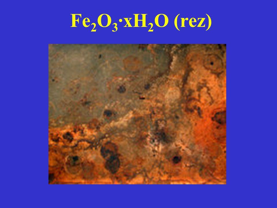 Fe 2 O 3 ·xH 2 O (rez)