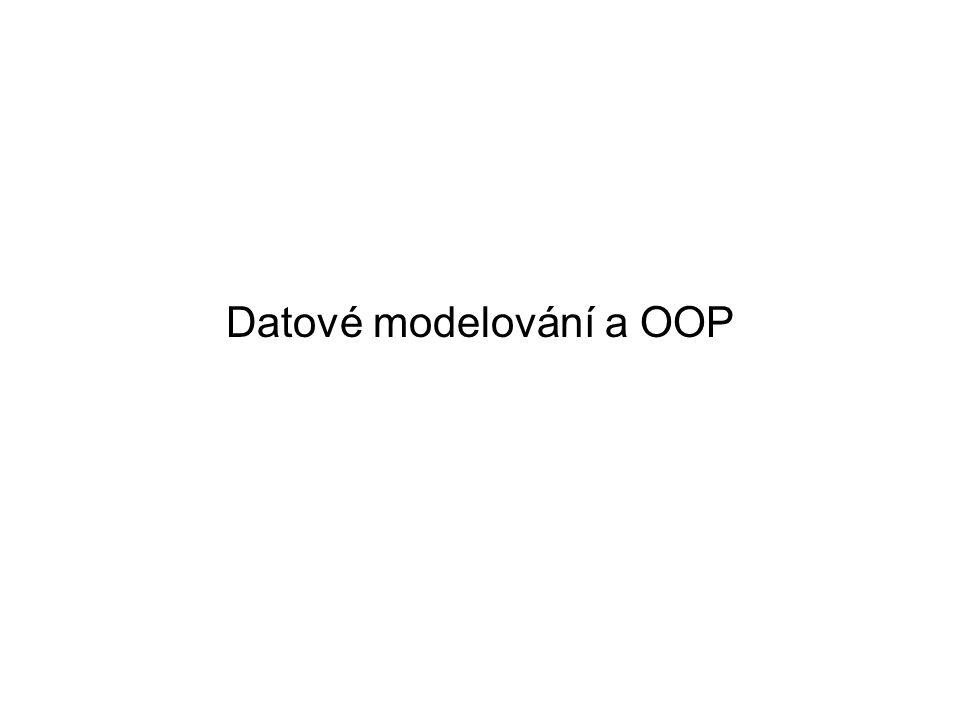 Datové modelování a OOP