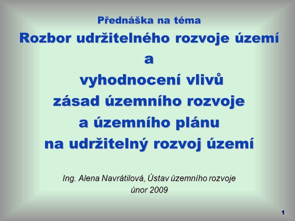 organizační složka státu  vykonává metodickou činnost pro jednotlivé odbory Ministerstva pro místní rozvoj, zejména v oblasti územního plánování, zejména v oblasti územního plánování, regionální politiky a bydlení Ústav územního rozvoje www.uur.cz 2