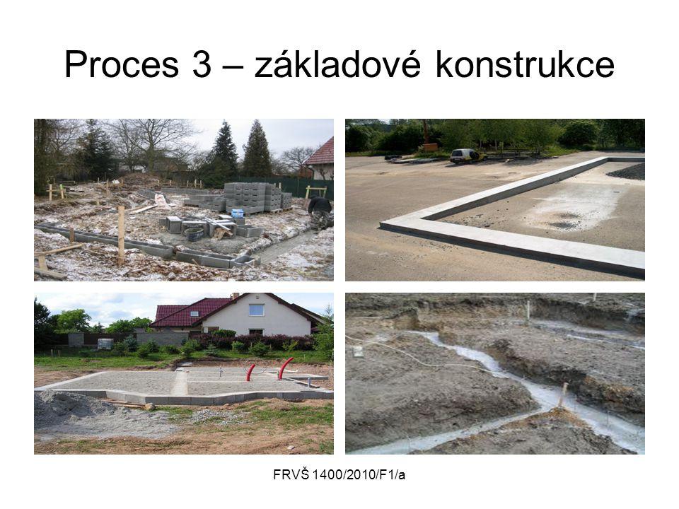FRVŠ 1400/2010/F1/a Proces 3 – základové konstrukce