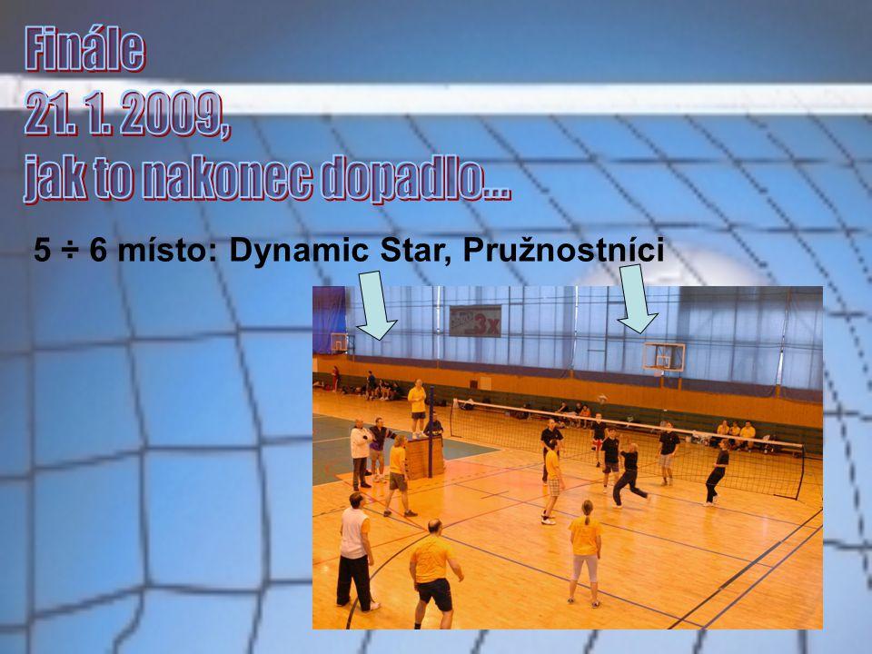 5 ÷ 6 místo: Dynamic Star, Pružnostníci
