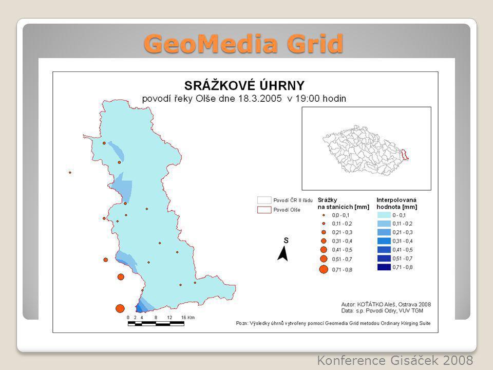 GeoMedia Grid Konference Gisáček 2008