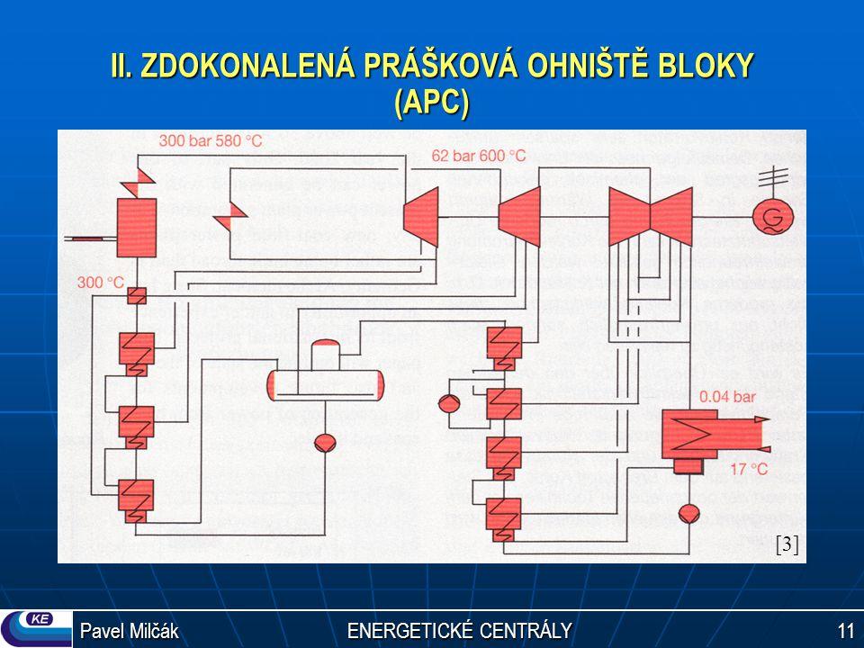 Pavel Milčák ENERGETICKÉ CENTRÁLY 11 II. ZDOKONALENÁ PRÁŠKOVÁ OHNIŠTĚ BLOKY (APC) [3][3]