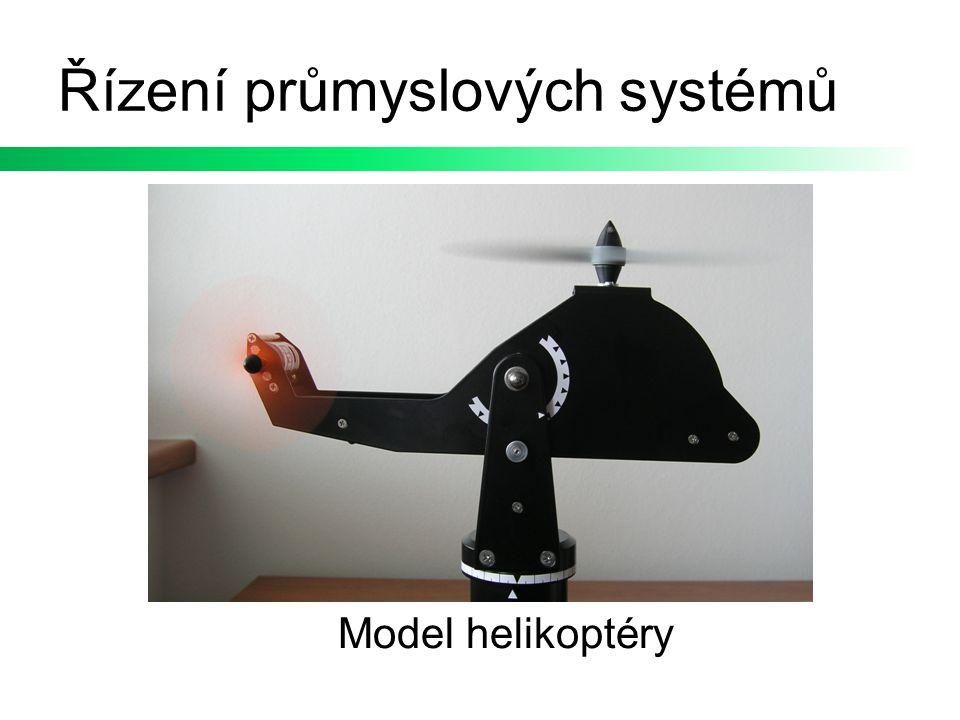 Řízení průmyslových systémů Model helikoptéry
