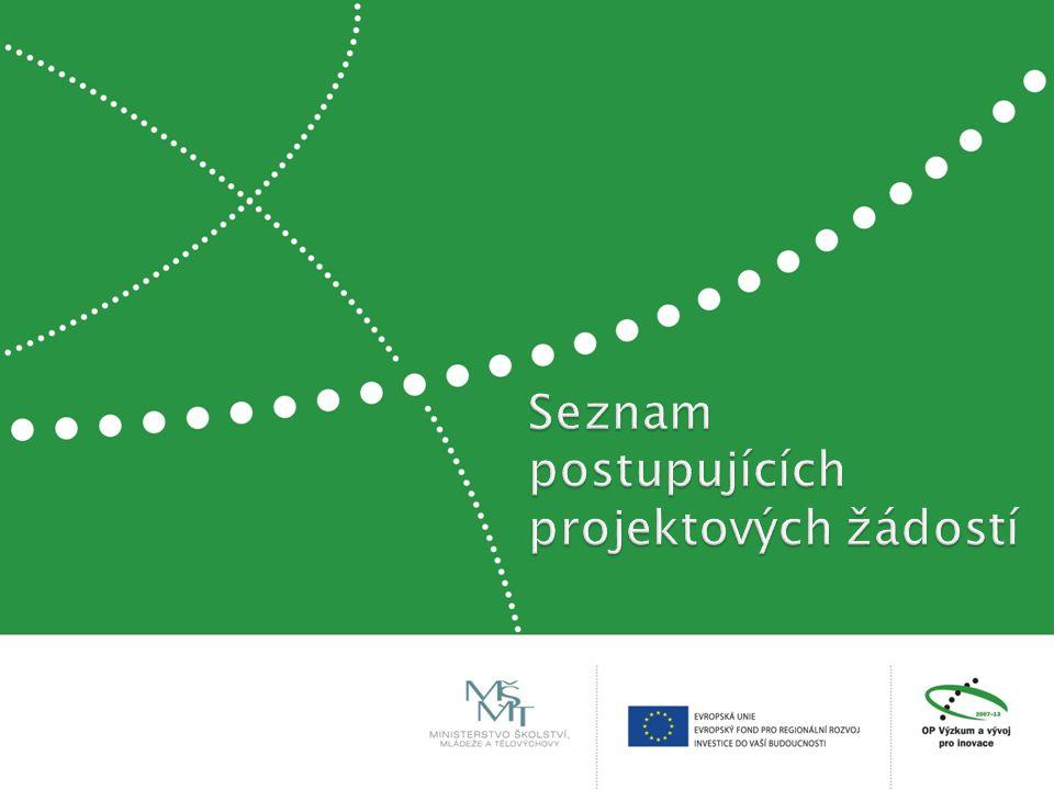 Náměty na interní spolupráci v rámci VŠB – TU Ostrava - Centrum excelence IT4Innovations - Spolupráce s řešiteli dalších projektů OP VaVpI, které VŠB – TU O získala, nebo získá - Inovace pro efektivitu a životní prostředí CZ.1.05/2.1.00/01.0036 Předpokládáme získání těchto projektů z 2.