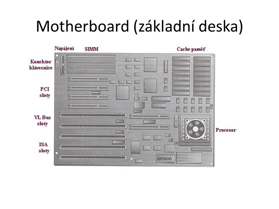 Motherboard (základní deska)