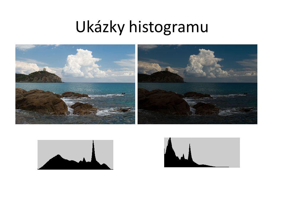 Ukázky histogramu