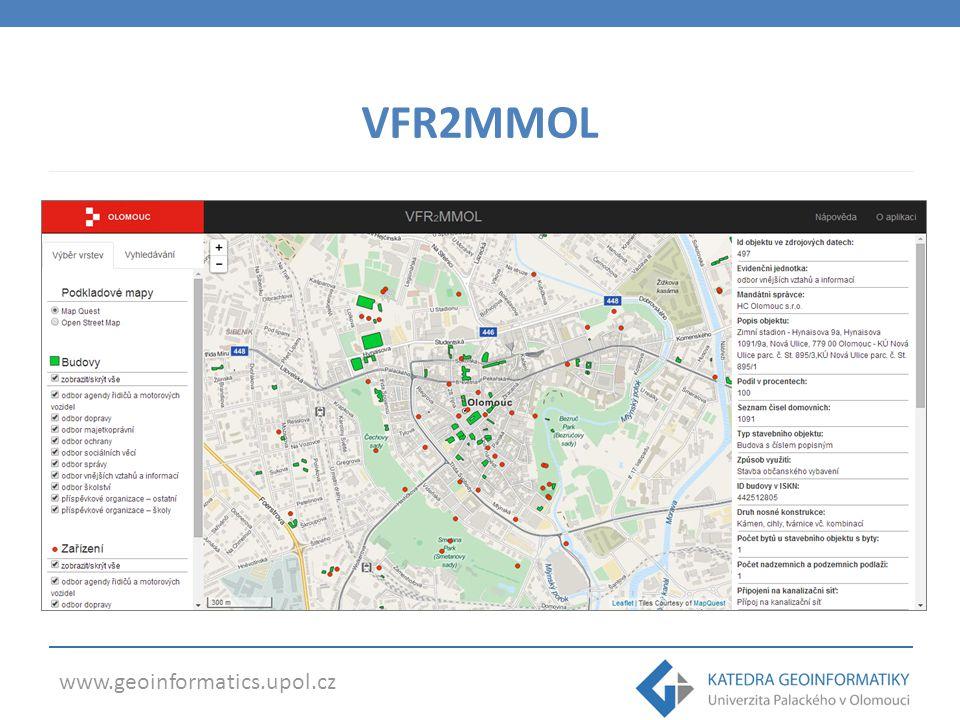 www.geoinformatics.upol.cz VFR2MMOL