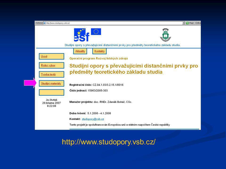 http://www.studopory.vsb.cz/