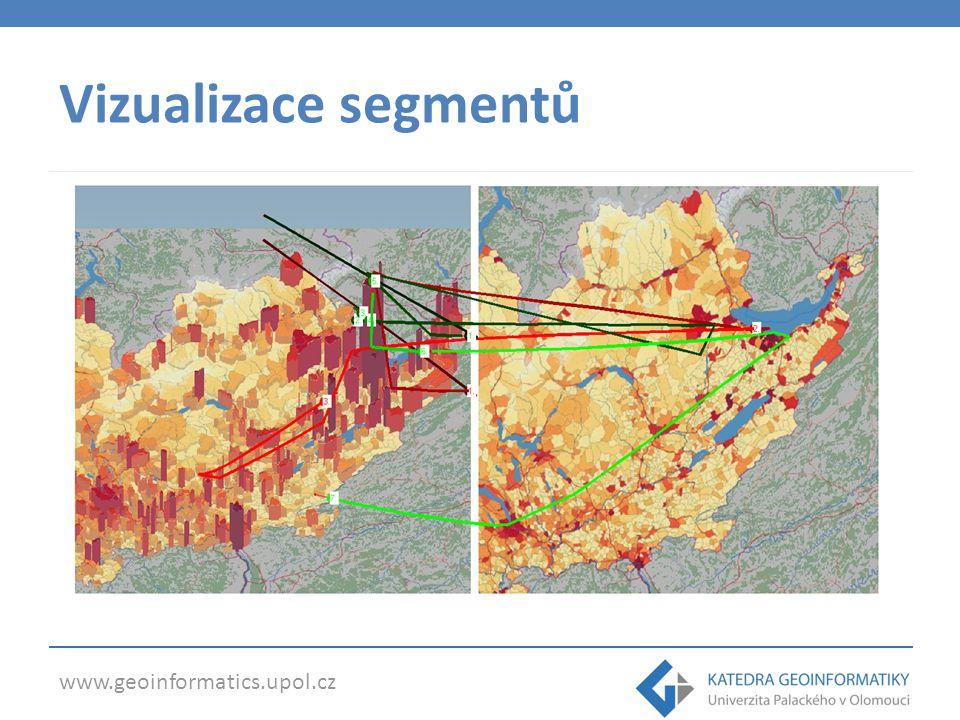 www.geoinformatics.upol.cz Vizualizace segmentů
