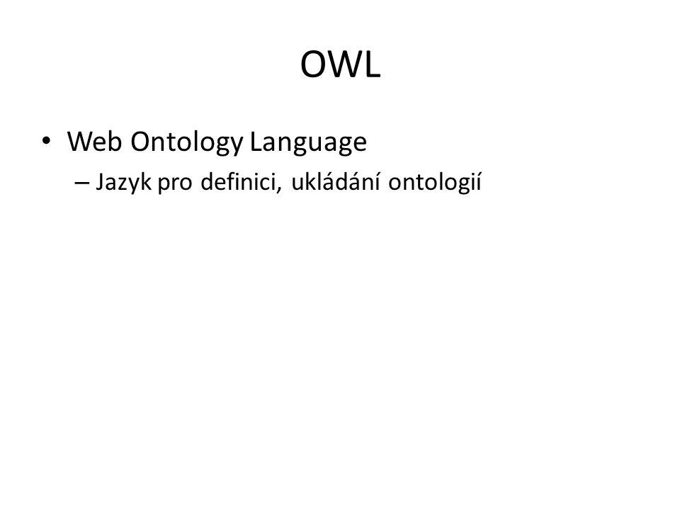 Semantický Web dnes Popravdě nic moc – Mikroformáty Jan Novák moje firma sro 123456789 http://moje-firma.cz/ Podpora v prohlížečích, sémantických vyhledávačích atd.