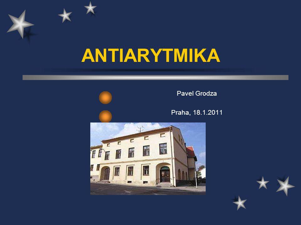 Antiarytmika- Třída II.