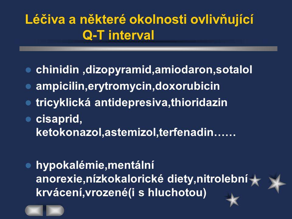 Třída Ia-materia medica chinidin- Kinidin Durules 200mg Astra- Zeneca procainamid-Apo-Procainamid 250mg disopyramid-Korapeis Rythmodan,Rytmilen,Norpace ajmalin- Gilurytmal inj.Solvay prajmalin-Neo-Gilurytmal 20mg tbl.Solvay detajmin-Tachmalcor 25mg tbl.AWD