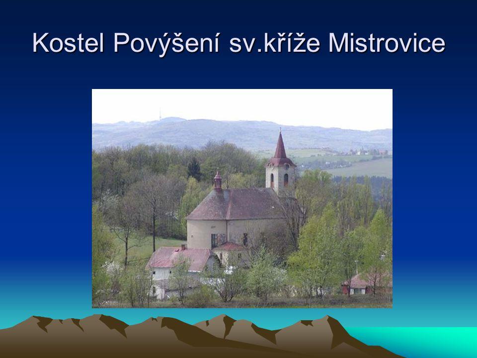 Kostel Povýšení sv.kříže Mistrovice