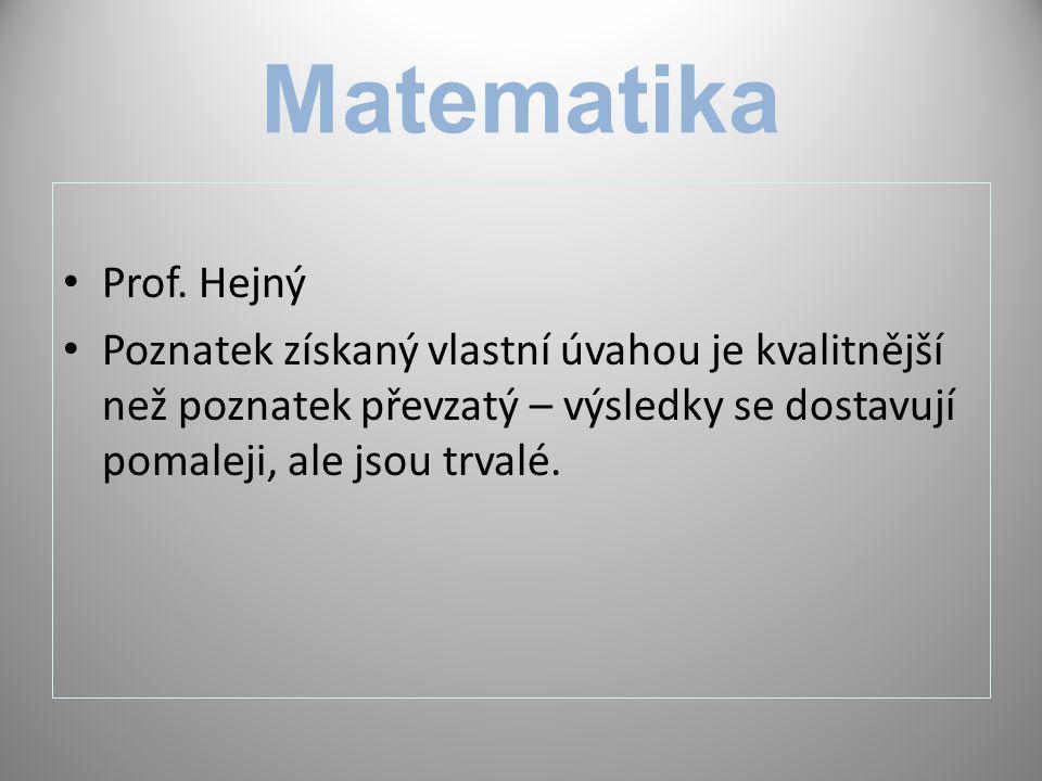 Matematika Prof.
