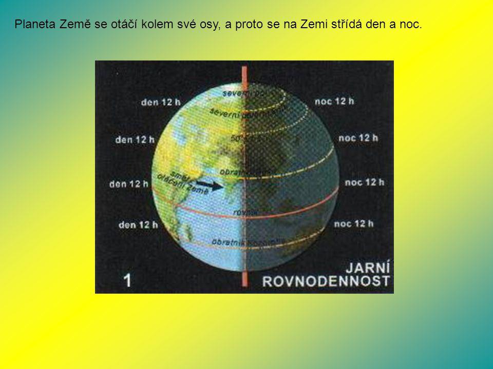 Země je živá planeta, protože má dostatek vody, vhodnou teplotu i kyslík v ovzduší.